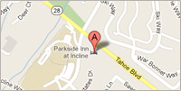 Parkside Inn Map